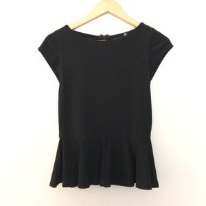 Alice + Olivia Peplum Blouse Small